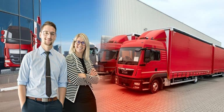 Header 22 Service for truck sales Composing