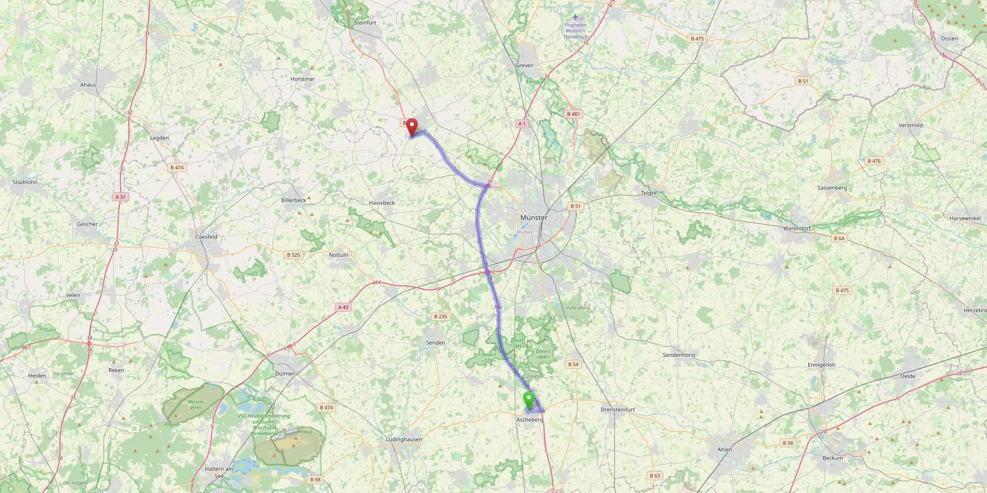 Kopfbild 51 Anfahrt und Ansprechpartner Karte