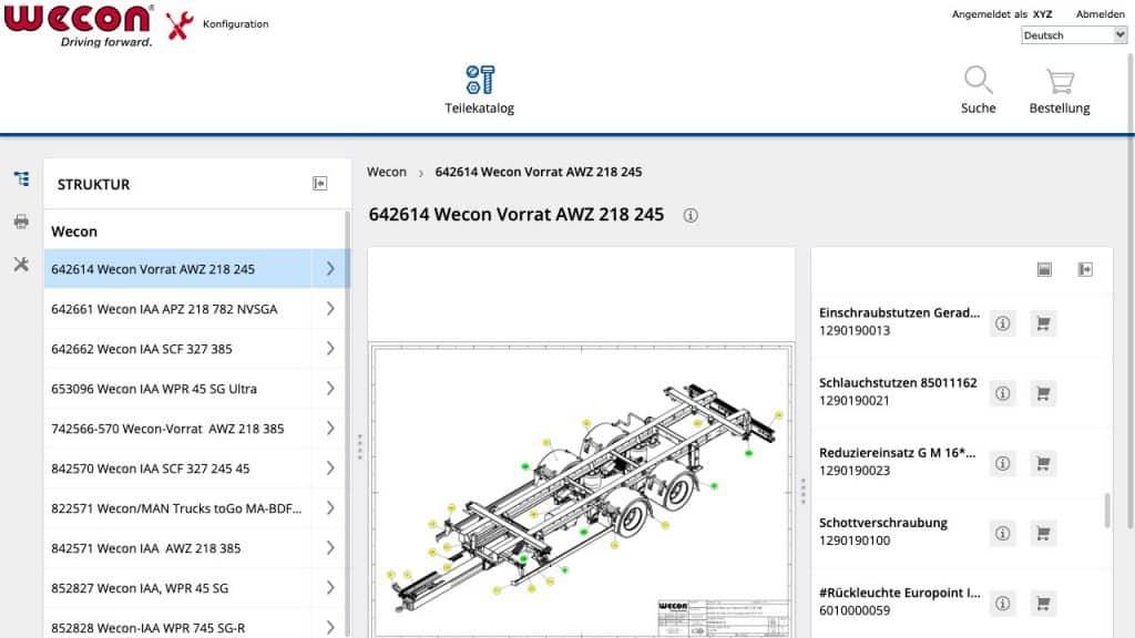 Screenshot service portal