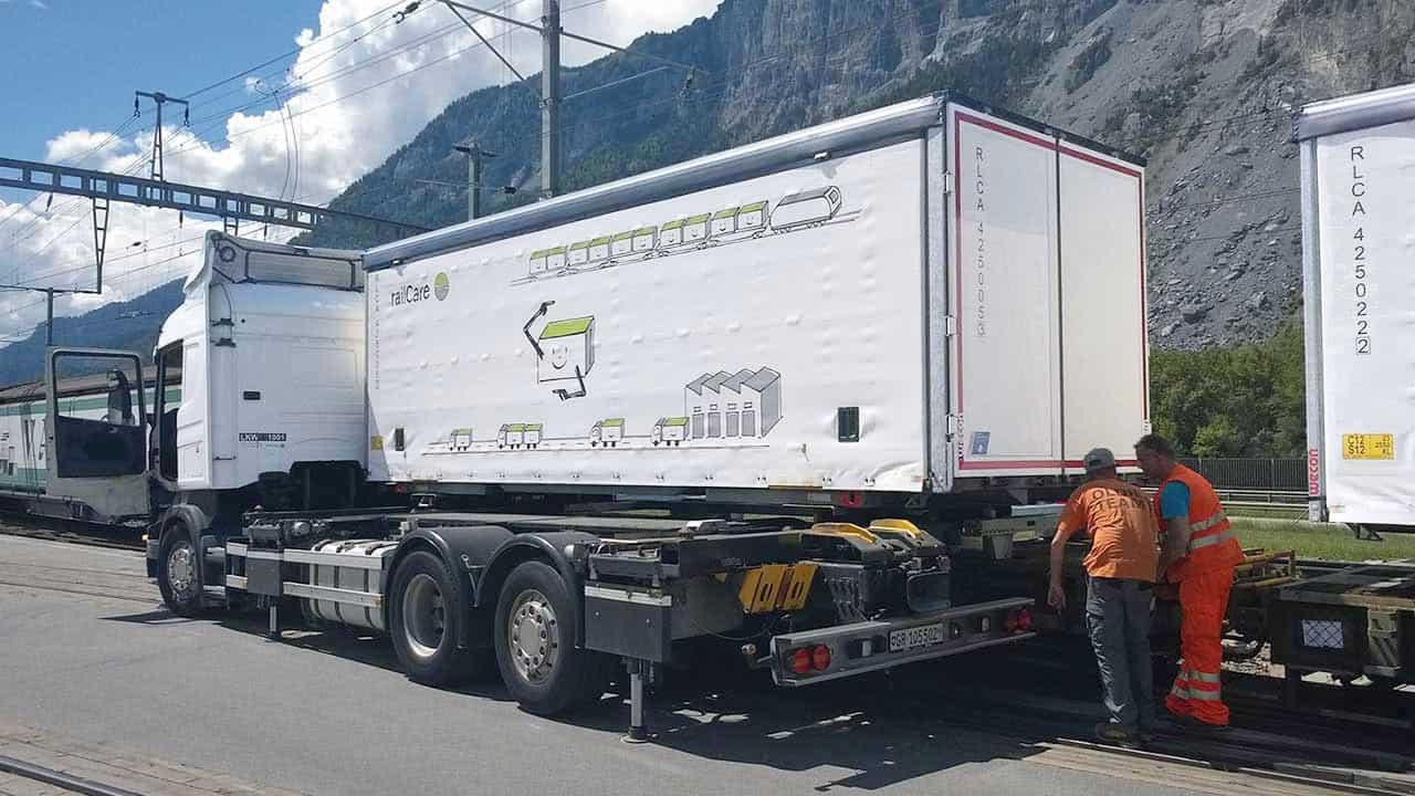 Bahntechnik: InnovaTrain/ContainerMover